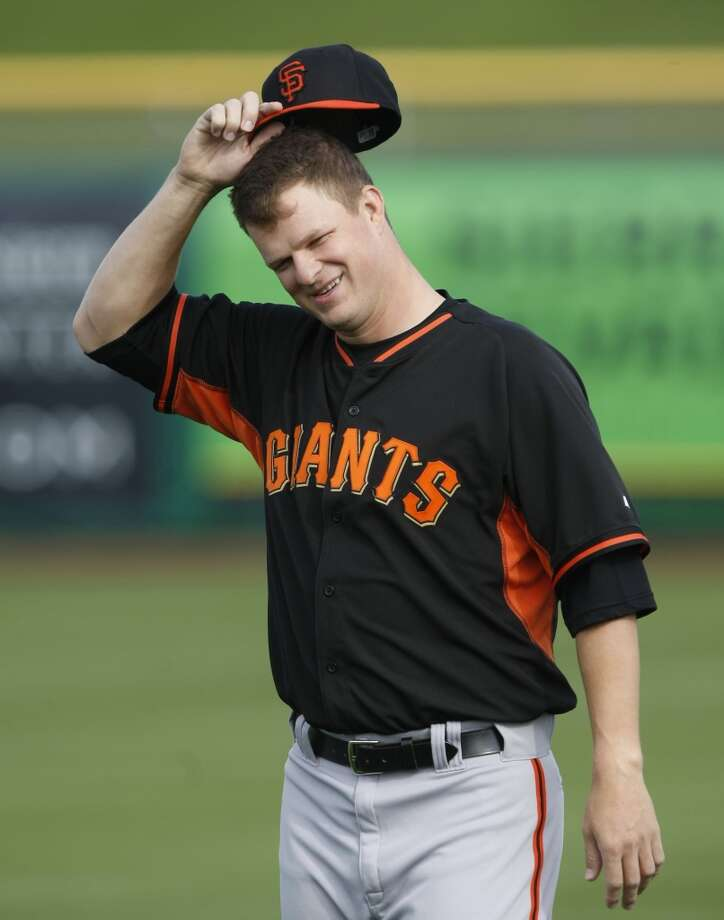Giants starting pitcher Matt Cain (18) during camp at Scottsdale Stadium. Photo: Rick Scuteri/USA Today Sports, Reuters