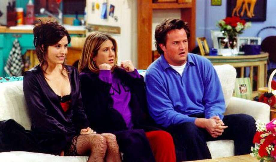 "Tuesday: ""Friends"" ended its run 10 years ago Tuesday. Photo: Getty Images / 2002 Getty Images"