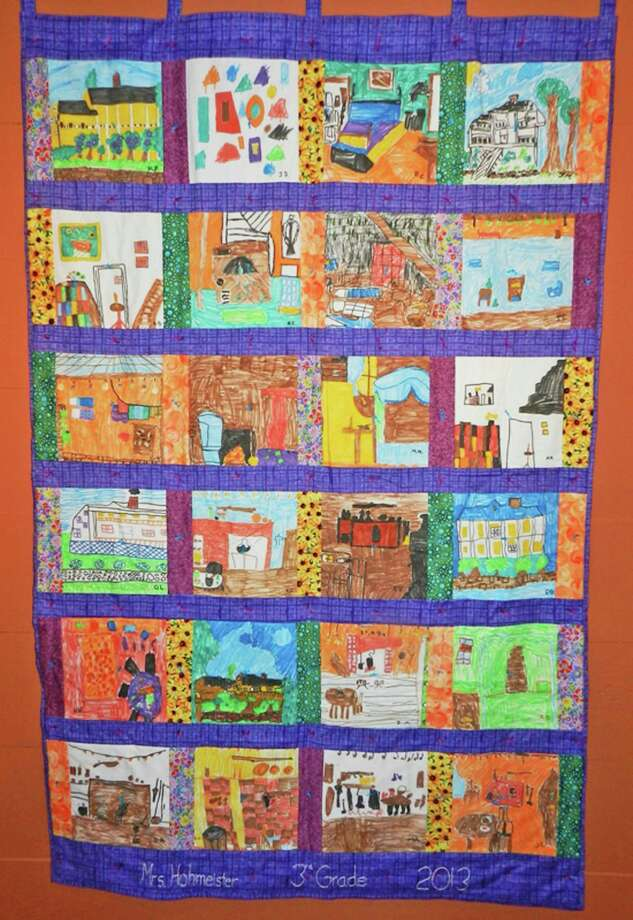 An exhibition featuring quilts made by Hamilton Avenue Magnet School third-grade classes between 2009 and 2013 is on display at the Historical Society's Storehouse Gallery until March 16.The gallery is located at 39 Strickland Road in Cos Cob, and is open Wednesday through Sunday, from noon to 4 p.m. For more information, visit www.greenwichhistory.org. Above is a quilt from last year's class. Photo: Contributed Photo / Greenwich Citizen