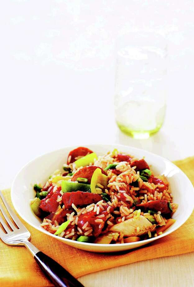 Spicy Sausage Jambalaya From Good Housekeeping Photo: James Baigrie
