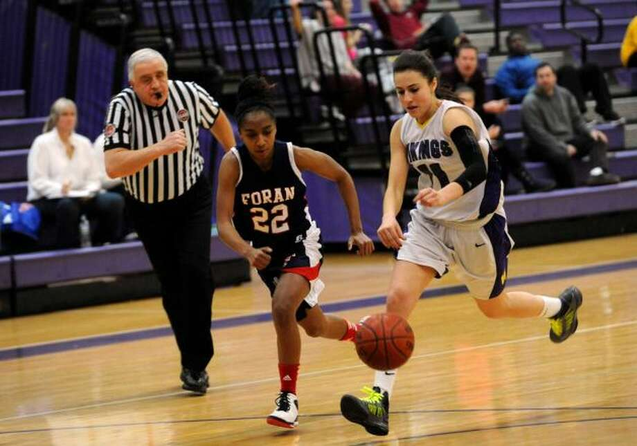 (8)Teneya McLaughlin, Foran girls basketball. The Assumption College-bound star recorded 23 points, seven rebounds and six assists in a 56-48 win over Branford.
