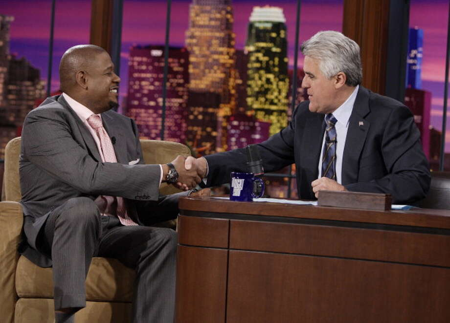Forest Whitaker sits down for an interview with host Jay Leno on Jan. 31, 2007. Photo: NBC, NBC Via Getty Images / © NBC Universal, Inc.
