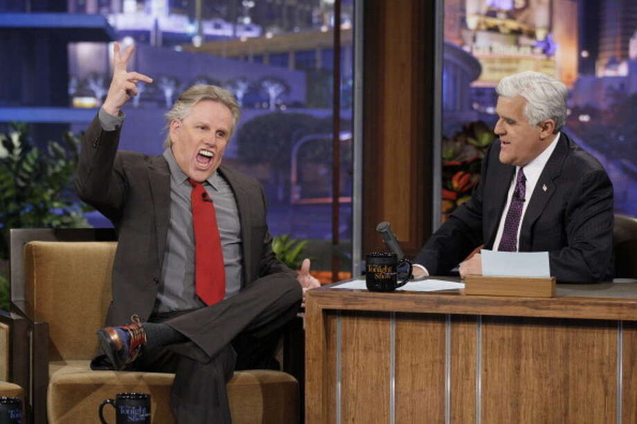Gary Busey interviewed with host Jay Leno on April 7, 2011. Photo: NBC, NBC Via Getty Images / © NBCUniversal, Inc.
