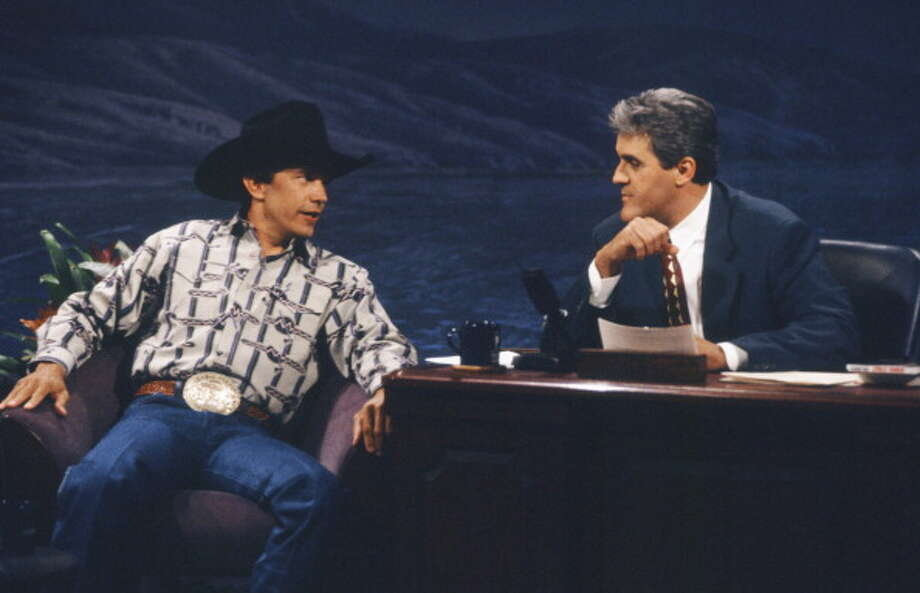 George Strait interviewed with host Jay Leno on Oct. 15, 1992. Photo: NBC, NBC Via Getty Images / © NBCUniversal, Inc.