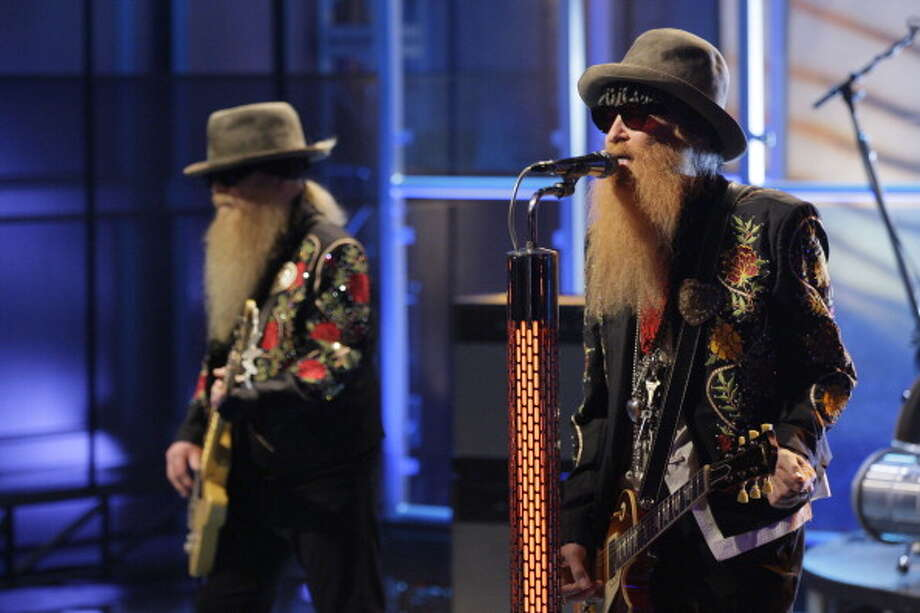 ZZ Top performed on Sept. 21, 2012. Photo: NBC, NBCU Photo Bank Via Getty Images / 2012 NBCUniversal Media, LLC