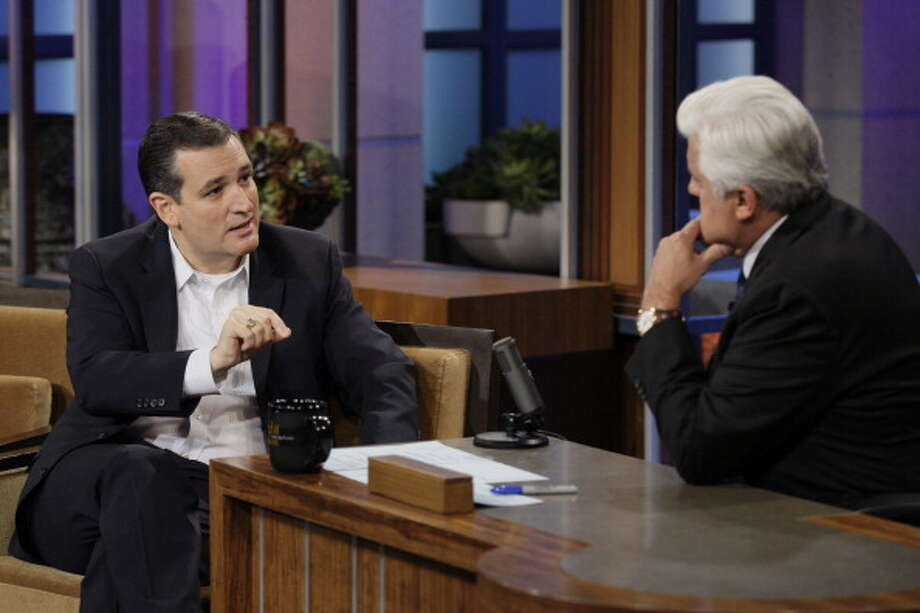 Ted Cruz interviewed with host Jay Leno on Nov. 8, 2013. Photo: NBC, NBCU Photo Bank Via Getty Images / 2013 NBCUniversal Media, LLC