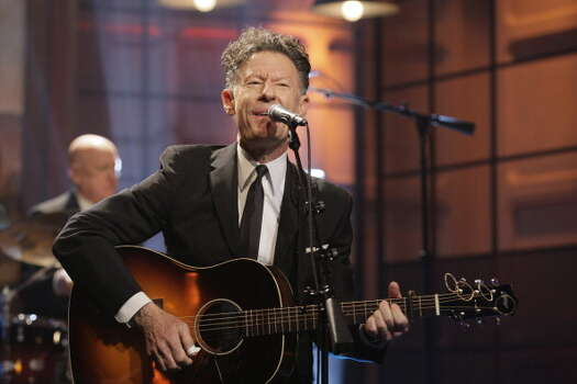 Country crooner Lyle Lovett was born in Houston, which was near his hometown, Klein. Photo: NBC, NBCU Photo Bank Via Getty Images / 2013 NBCUniversal Media, LLC