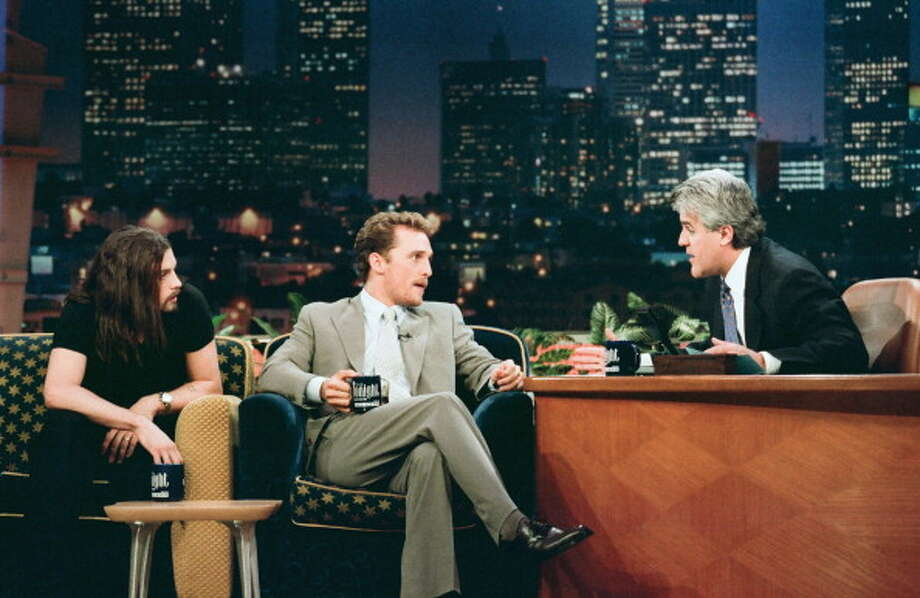 Skeet Ulrich appeared with Matthew McConaughey for an interview with host Jay Leno on March 19, 1997. Photo: NBC, NBCU Photo Bank Via Getty Images / 2014 NBCUniversal Media, LLC