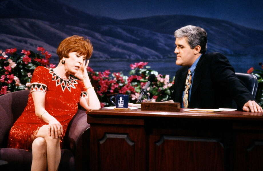 Carol Burrnett interviewed with host Jay Leno on Jan. 8, 1993. Photo: NBC, NBCU Photo Bank Via Getty Images / 2014 NBCUniversal Media, LLC