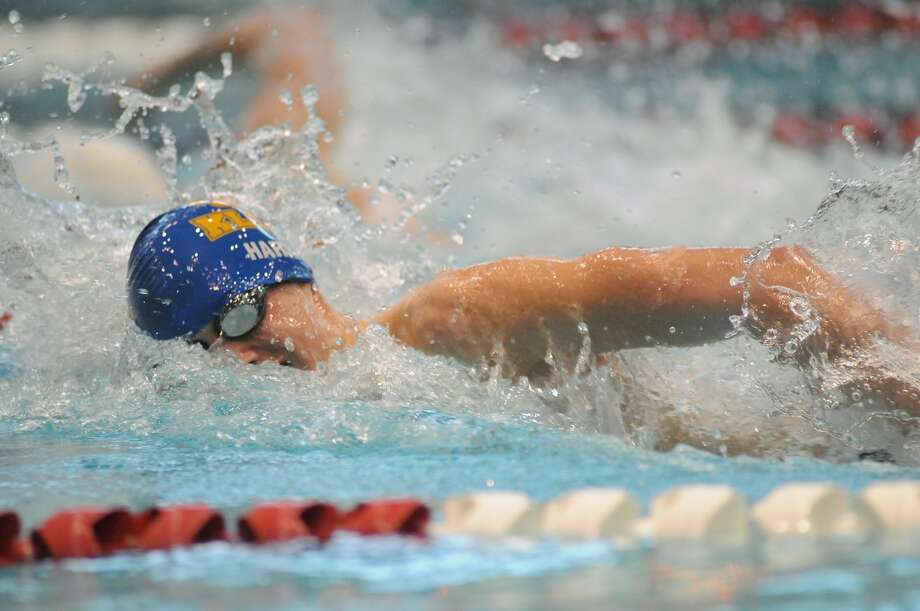 Klein's Harry Sale will compete in the 200- and 500-yard freestyle races at the UIL Swimming and Diving State Meet in Austin this weekend. Photo: Jerry Baker, Freelance