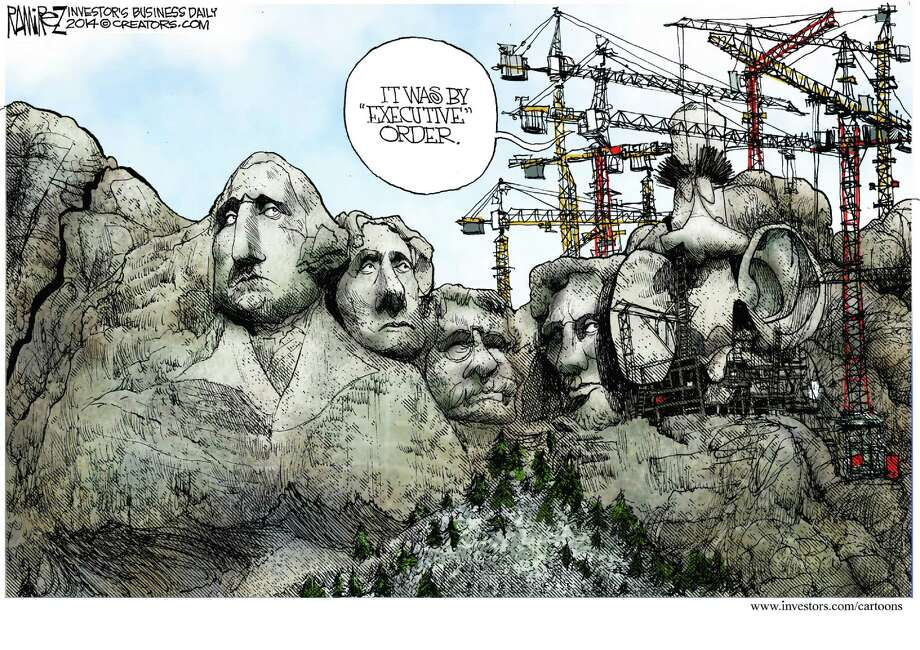 Michael Ramirez of Investor's Business Daily