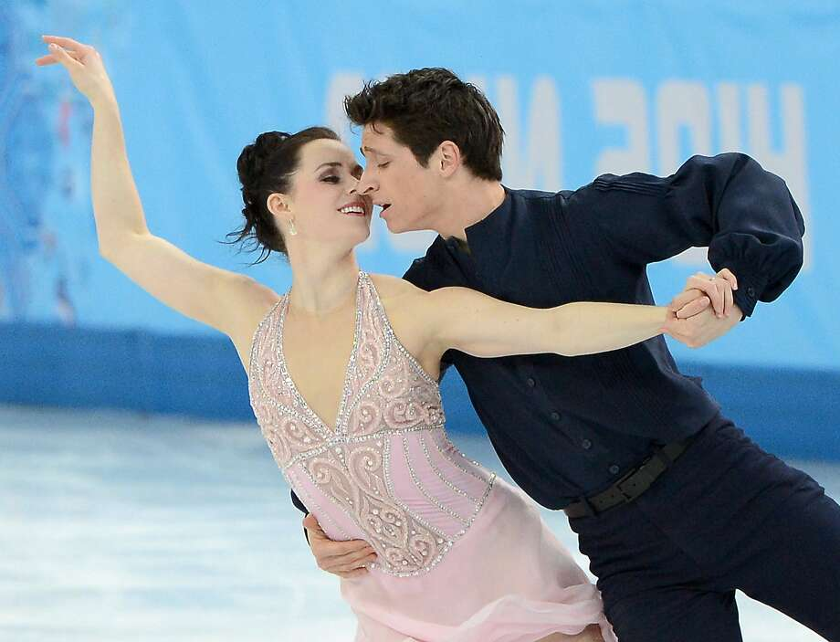 Tessa Virtue and Scott Moir of Canada, like their U.S. counterparts, call Marina Zoueva coach. Photo: Chuck Myers, McClatchy-Tribune News Service