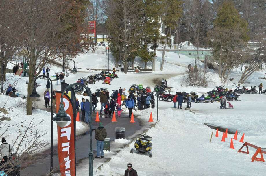 Winter Festival at Lake George, every weekend in February.Events include giant ice slide, dogsled rides, chili cook off, helicopter rides, human foosball tournament, ice skating, bonfires, polar plunge, fireworks, local vendors, live animals, and much more. More information here. Photo: Tim Weatherwax One Shot Photography