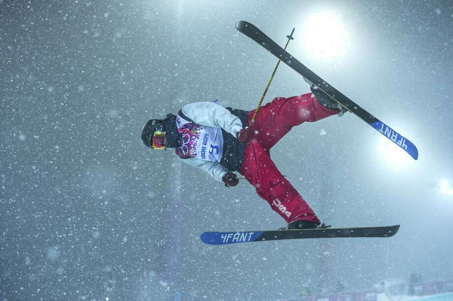 USA's David Wise competes in the men's ski halfpipe at Rosa Khutor Extreme Park during the Winter Olympics in Sochi, Russia, on Tuesday, Feb. 18, 2014. Photo: Mark Reis, McClatchy-Tribune News Service / Colorado Springs Gazette