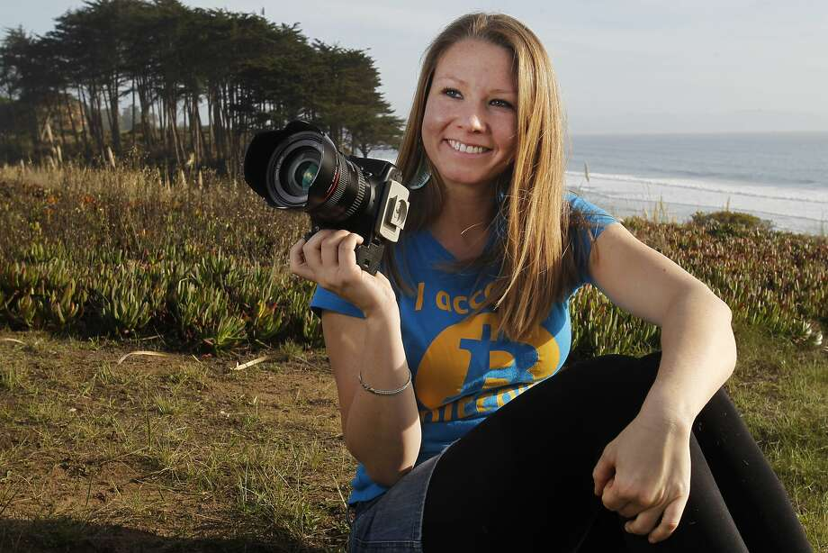 Sarah Blincoe wants more women to feel comfortable using bitcoin, so she has created a website where she will post profiles and photos of women she calls Bitcoin Beauties, including Charley, below. Photo: Leah Millis, The Chronicle
