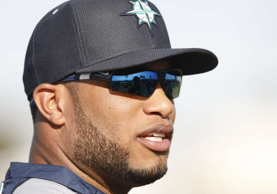 Seattle Mariners second baseman Robinson Cano during spring training baseball practice, Tuesday, Feb. 18, 2014, in Peoria, Ariz. (AP Photo/Rick Scuteri) Photo: AP