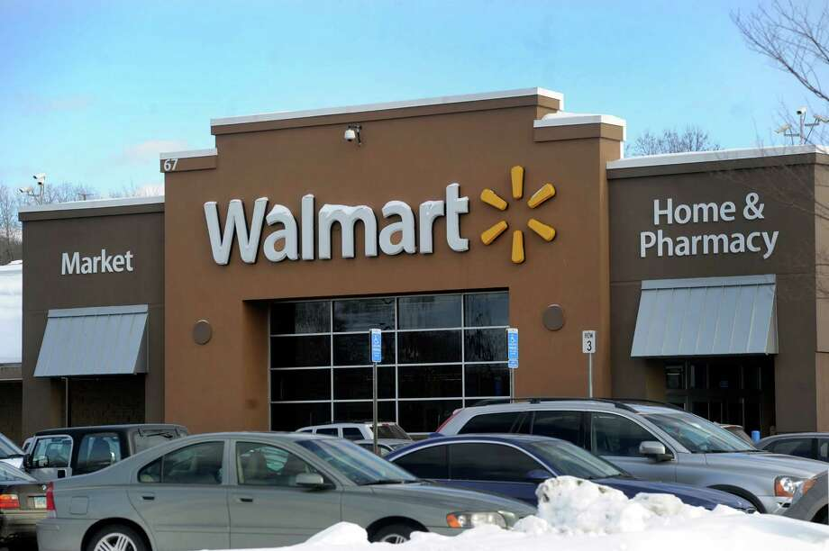 Walmart on Newtown Road in Danbury, Conn., Friday, Feb. 14, 2014. Photo: Carol Kaliff / The News-Times