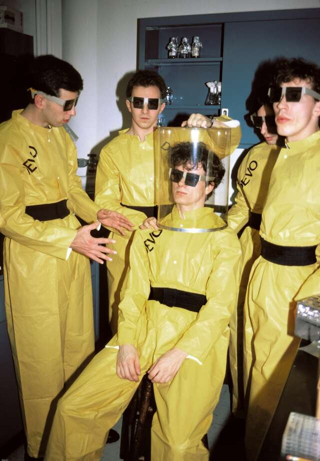 Devo: Wanted to always be ready for another alien abduction. Photo: Ebet Roberts, Redferns
