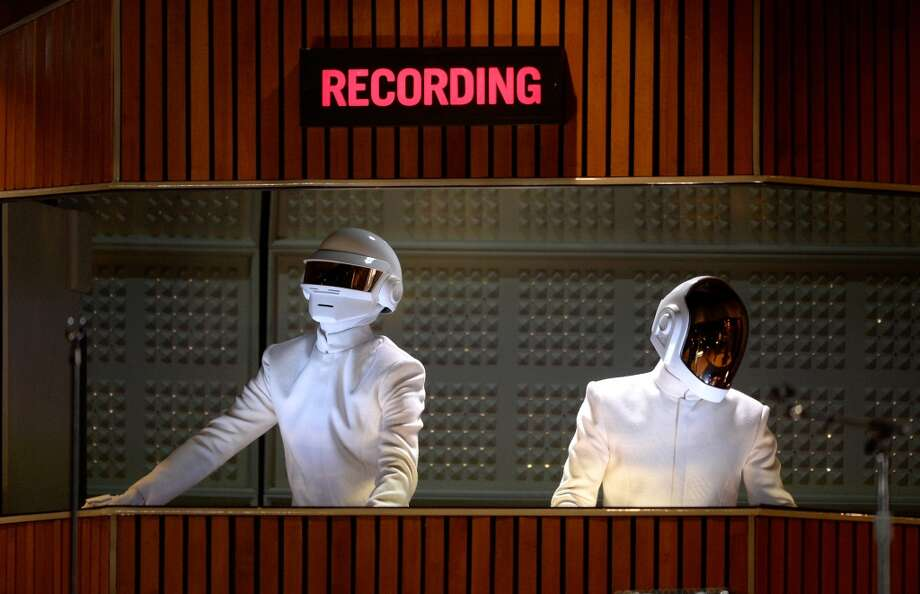 Daft Punk: Duh! They really are robots. Photo: Kevork Djansezian, Getty Images
