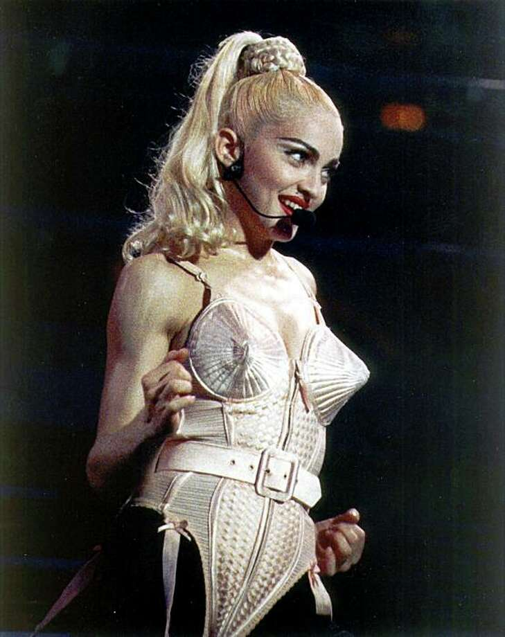 Madonna: Her breasts really are cone-shaped. Photo: File