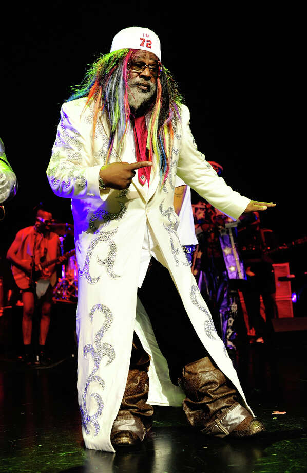 George Clinton: Low blood circulation keeps him cold. Thus, the layers. Photo: Ray Tamarra, Getty Images For BMI / 2009 Getty Images