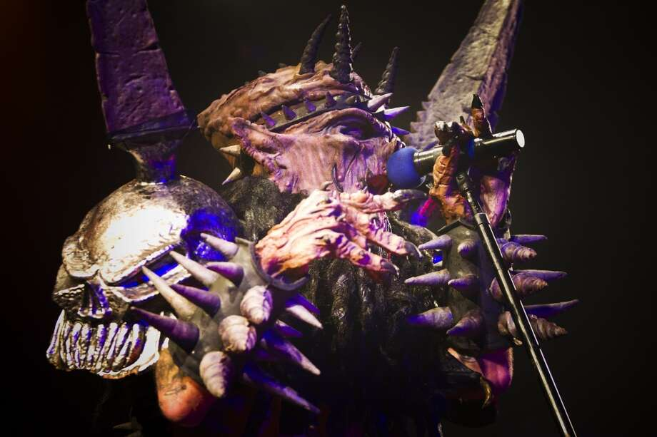 Gwar: In witness protection. Photo: Marie D. De Jesús, Houston Chronicle