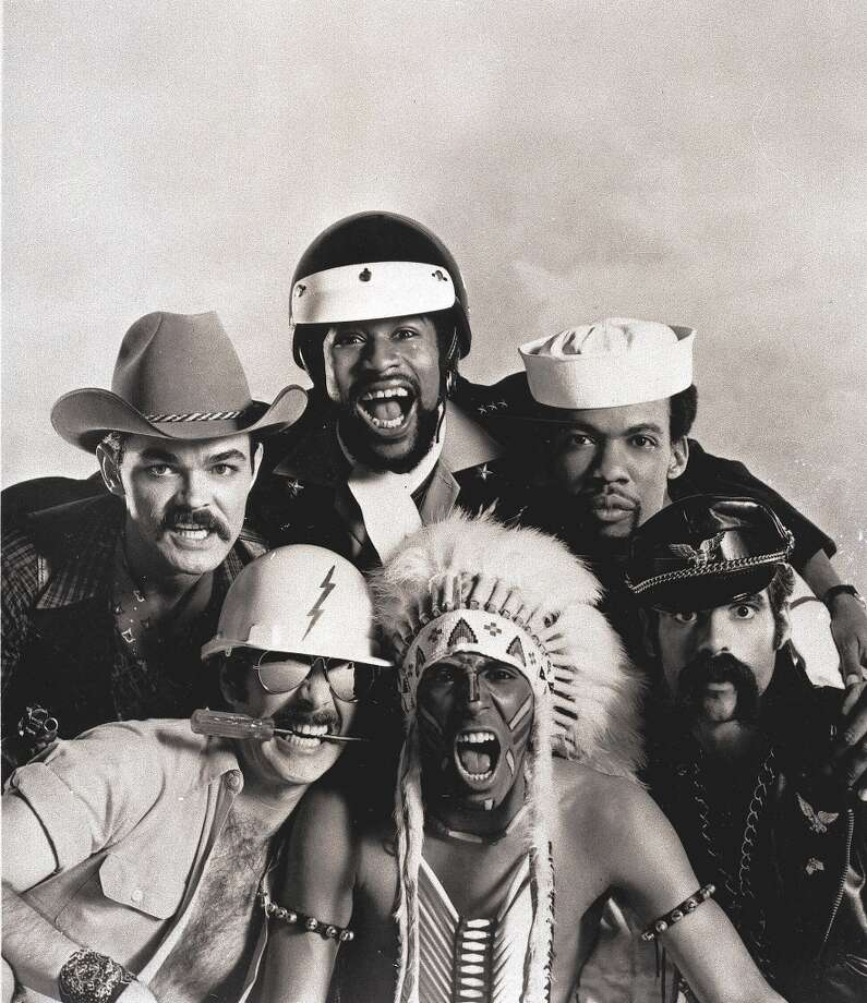 Village People: Actually were a cowboy, utility worker, motorcycle cop, Indian chief, sailor and motorcycle gang member. Photo: File