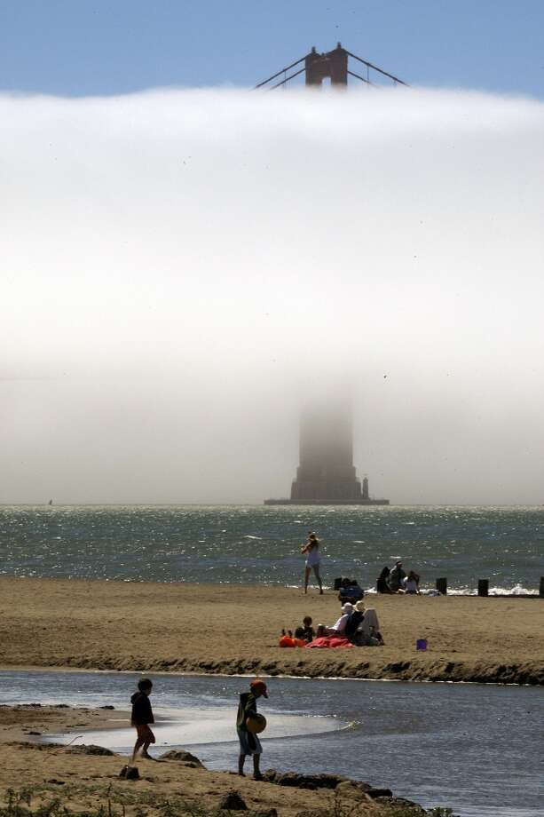 """""""Why aren't you more tan?""""You haven't seen what our summers look like, have you? Photo: Liz Hafalia, The Chronicle"""