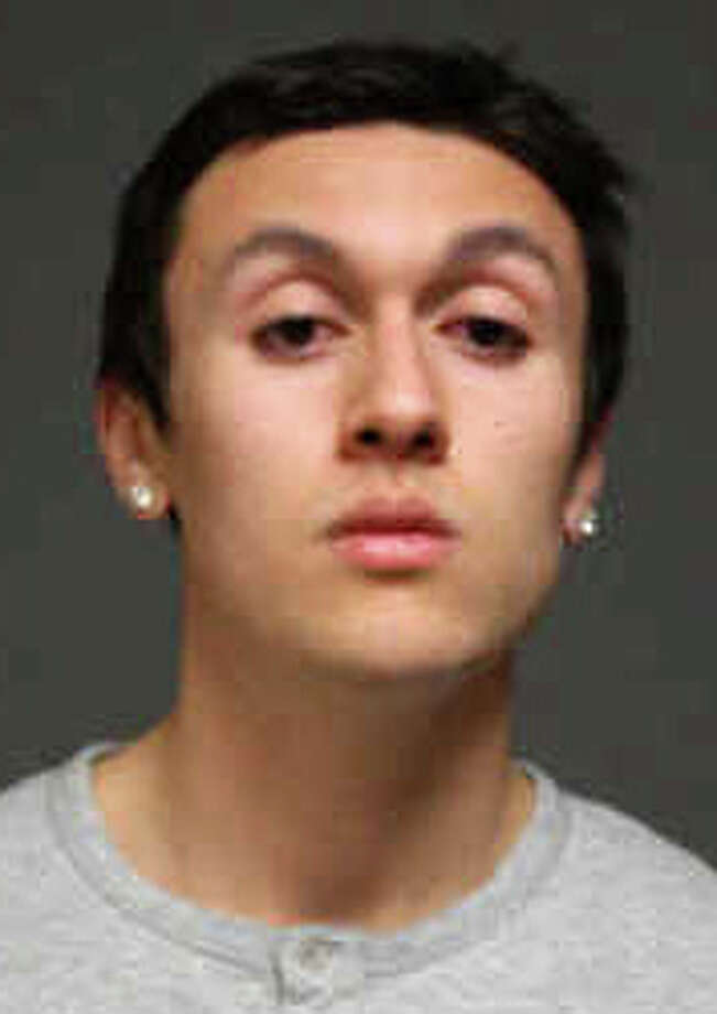 Blake Buna, 20, of New York City was charged with operation of a motor vehicle by a person under 21 years of age while under the influence and several other violations early Saturday. Photo: Fairfield Police Department / Fairfield Citizen contributed