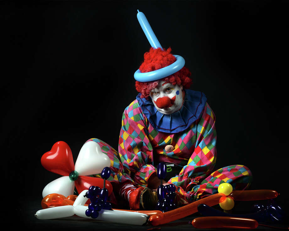 Clown experts are saying the diminished popularity of the big-shoed entertainer is causing a clown shortage. Dewayne Marsh, pictured, as Tobby the Clown.  Photo taken Tuesday, February 18, 2014 Guiseppe Barranco/@spotnewsshooter Photo: Guiseppe Barranco, Photo Editor