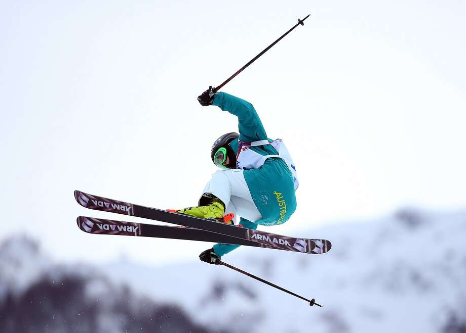 Davina Williams of Australia is seen in action during a Freestyle Skiing training session at Rosa Khutor Extreme Park on day 12 of the Sochi Winter Olympics on February 19, 2014 in Sochi, Russia. Photo: Robert Cianflone, Getty Images