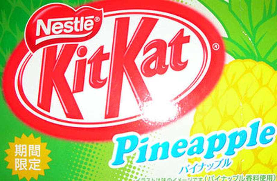 Pineapple Kit Kat from Japan  Credit: BuzzFeed