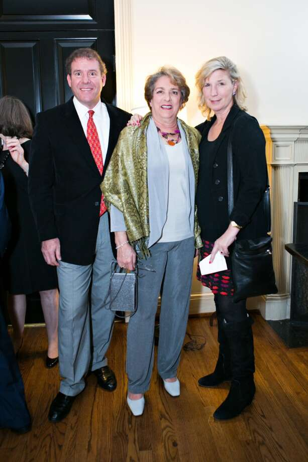 Gary Moss, from the left, Ellen Cohen and Louise Moss Photo: Laurie Perez