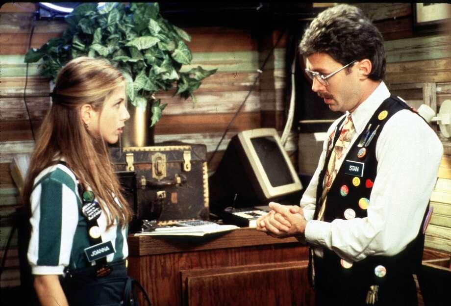 Jennifer Aniston played Peter Gibbons' waitress girlfriend, Joanna. Photo: Getty Images