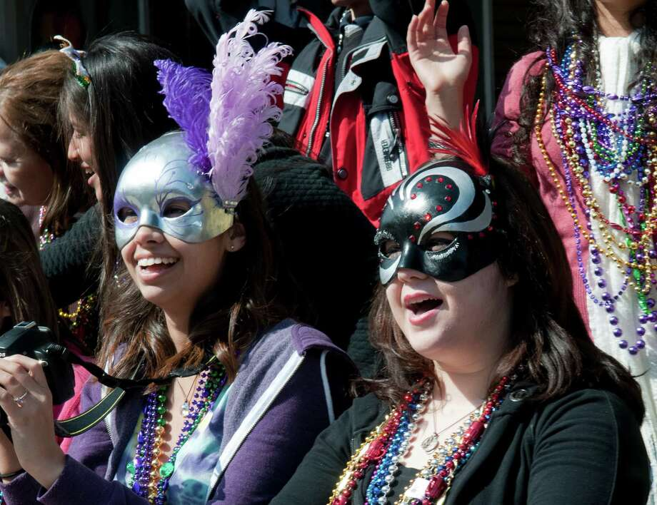 Krewe d'Esprit Rosaire Parade:The festivities kick off at the Public School Stadium Parking Lot on Saturday, March 1 at 9 a.m. with the Battle of the Bands. The parade starts at 11 a.m. at Kempner Park (27th and Ave. N) and will proceed down the Seawall, right onto 31st street, down Ave N, left onto 27th and end at Jack Johnson Park (27th and Avenue M.) mardigrasgalveston.com Photo: Courtesy Photo, Freelance / ONLINE_YES