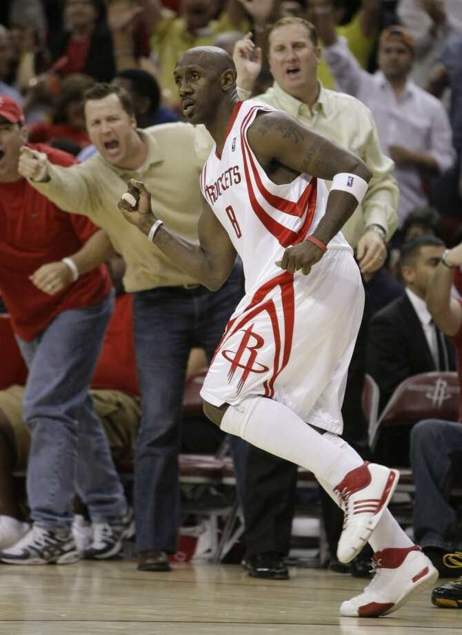 2008 Who the Rockets acquired: Bobby Jackson. Photo: Brett Coomer, Houston Chronicle