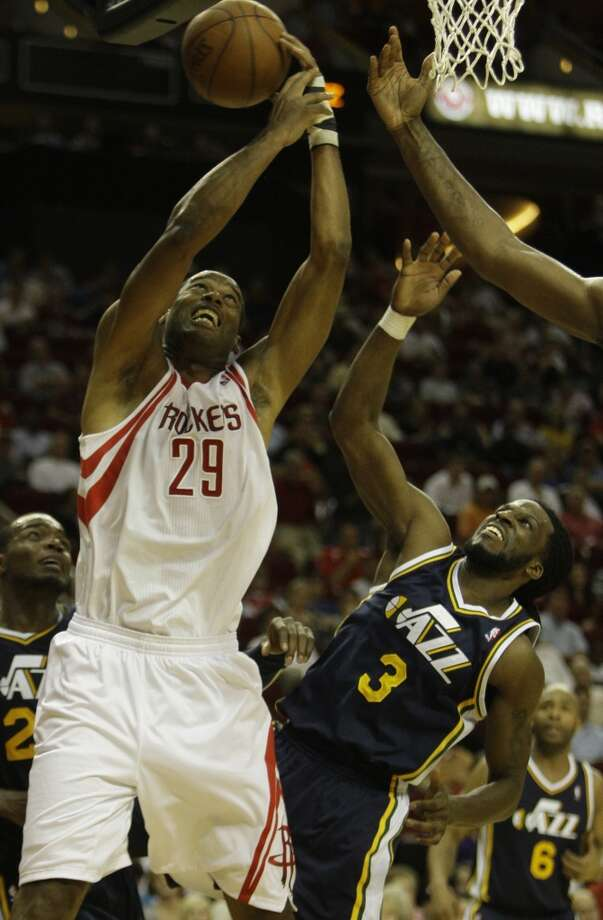 2012 Who the Rockets acquired: Marcus Camby. Photo: Melissa Phillip, Houston Chronicle