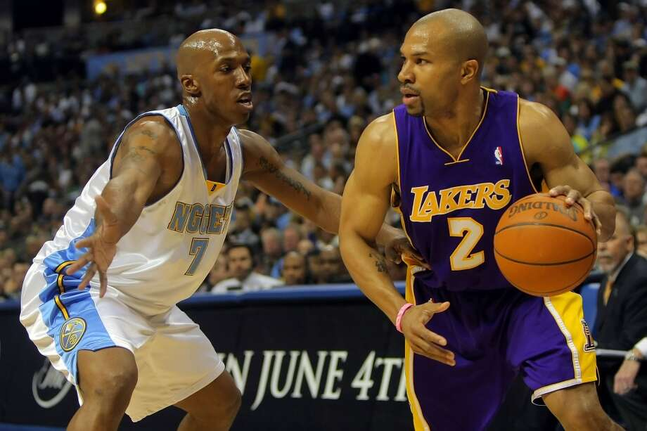 2012Who the Rockets acquired: Derek Fisher.Note: Fisher was waived four days later before playing a game for the Rockets. Photo: Doug Pensinger, Getty Images