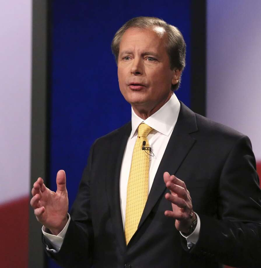 Republican Texas lieutenant governor candidate Lt. Gov. David Dewhurst speaks during a debate at KERA studios in Dallas, Monday, Jan. 27, 2014. Four Republican candidates are vying to be Texas lieutenant governor, a post considered to be the most powerful in the state. (AP Photo/LM Otero,Pool) Photo: LM Otero, Associated Press