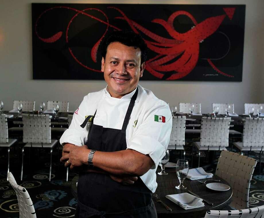 Caracol restaurant Chef Owner Hugo Ortega poses for a portrait Thursday, Dec. 19, 2013, in Houston.  ( James Nielsen / Houston Chronicle ) Photo: James Nielsen, Staff / © 2013  Houston Chronicle