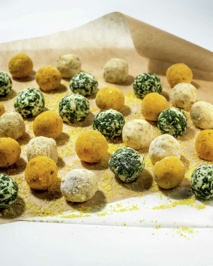Gnudi, an Italian dumpling, has been showing up everywhere lately. Varities include plain ricotta gnudi as well as ricotta with squash or spinach. (Bill Hogan/Chicago Tribune/MCT) ORG XMIT: 1147926 Photo: Bill Hogan / Chicago Tribune