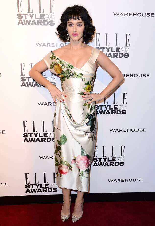 Katy Perry attends the Elle Style Awards 2014 in London, England. Photo: Mike Marsland, WireImage
