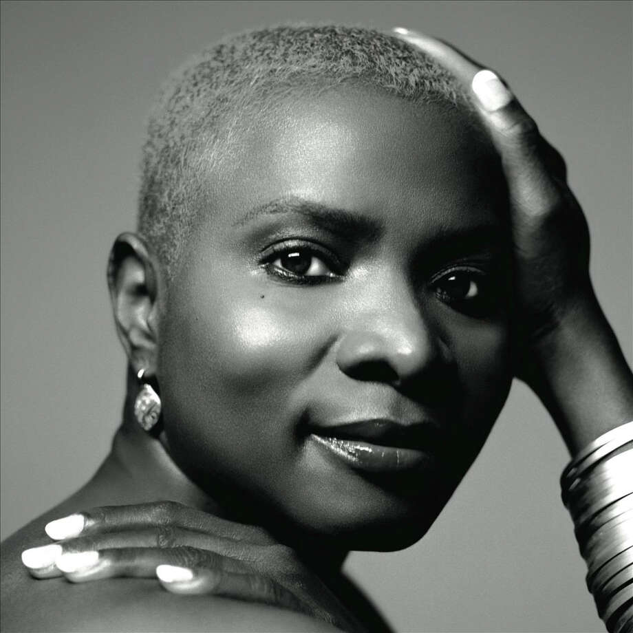 "In an undated handout photo, Angelique Kidjo, a singer and songwriter born in Benin. Kidjo, a UNICEF goodwill ambassador, says the inspiration for her new album ""Eve"" came during a visit to Kenyan villages, and African traditions and sensibilities are ever-present in her songs, even though she left Benin in 1983, first to live in Paris and later New York. (Columbia Records via The New York Times) -- PHOTO MOVED IN ADVANCE AND NOT FOR USE - ONLINE OR IN PRINT - BEFORE JAN. 19, 2014. -- NO SALES; FOR EDITORIAL USE ONLY WITH STORY SLUGGED MUSIC-KIDJO BY PARELES. ALL OTHER USE PROHIBITED. ORG XMIT: XNYT44 Photo: COLUMBIA RECORDS / COLUMBIA RECORDS"