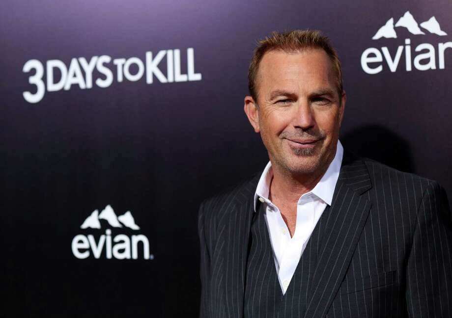 "Kevin Costner arrives at the premiere of ""3 Days to Kill"" on Wednesday, Feb. 12, 2014 in Los Angeles. (Photo by Matt Sayles/Invision/AP) ORG XMIT: CAMW108 Photo: Matt Sayles / Invision"