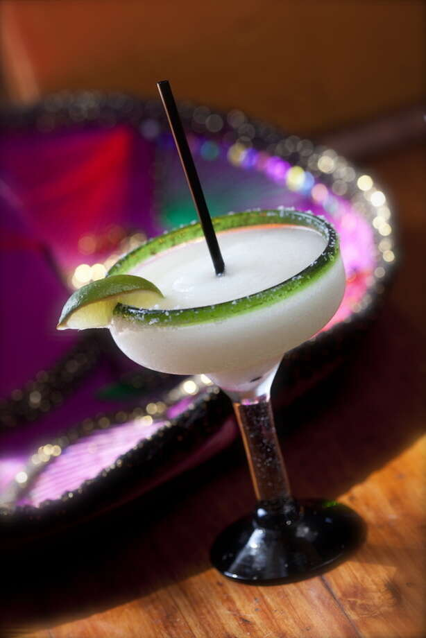 A margarita as served at Molina's Cantina.  Photo: Julie Soefer
