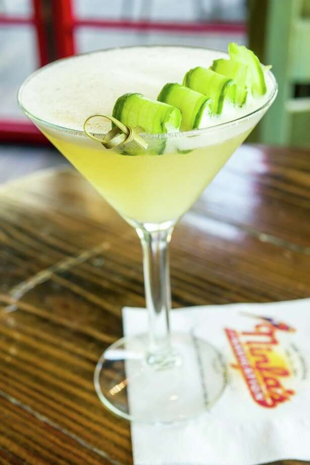 The Original Ninfa's drink called the Zandunga is made with a muddle of ginger and cucumber is shaken with lemongrass-infused Mezcal, agave and lime juice. Photo: Courtesy Photo