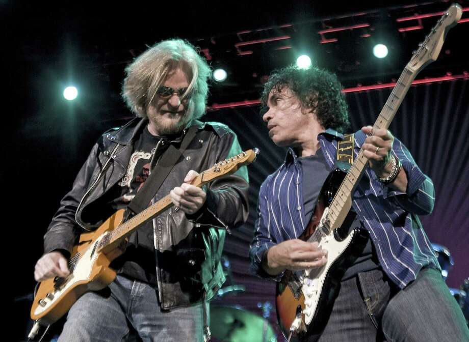 Hall & Oates are hitting the road with Tears for Fears. Photo: Getty Images File Photo / 2011 Timothy Hiatt