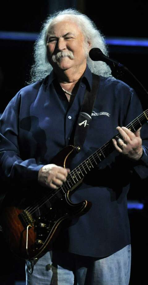 Legendary singer David Crosby is postponing sold-out California shows. Photo: Associated Press / FR151332 AP