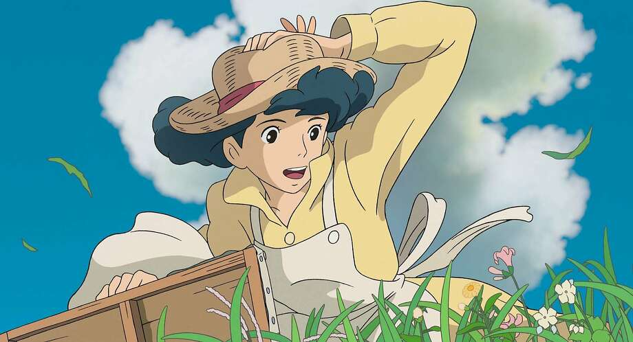 "Naoko (voiced by Emily Blunt) is the love interest of plane designer Jiro Horikoshi in ""The Wind Rises."" Photo: Studio Ghibli, Walt Disney Pictures"