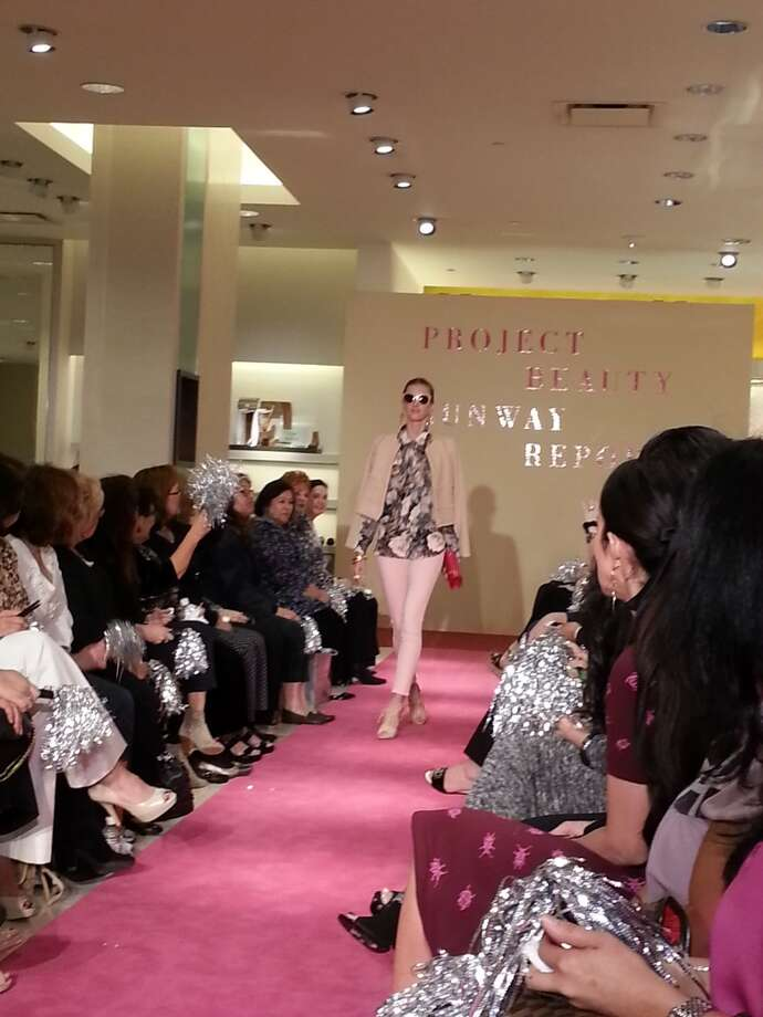 The pink trend at Project Beauty, Neiman Marcus San Antonio. Photo: Emily Spicer, San Antonio Express-News